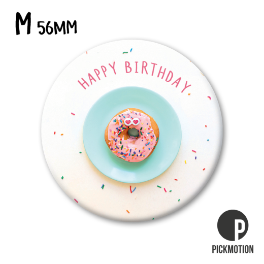 Magneetti Pickmotion - Happy birthday donut