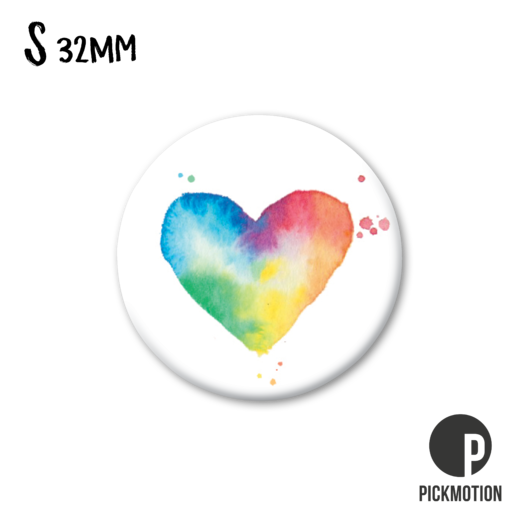 Magneetti Pickmotion - Rainbow heart