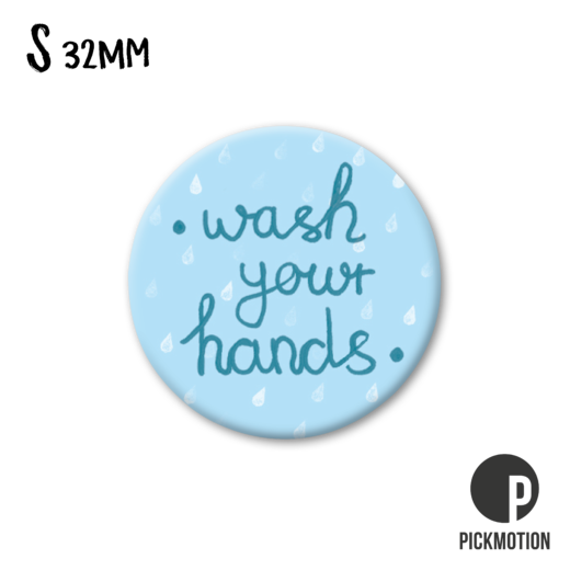 Magneetti Pickmotion - Wash your hands