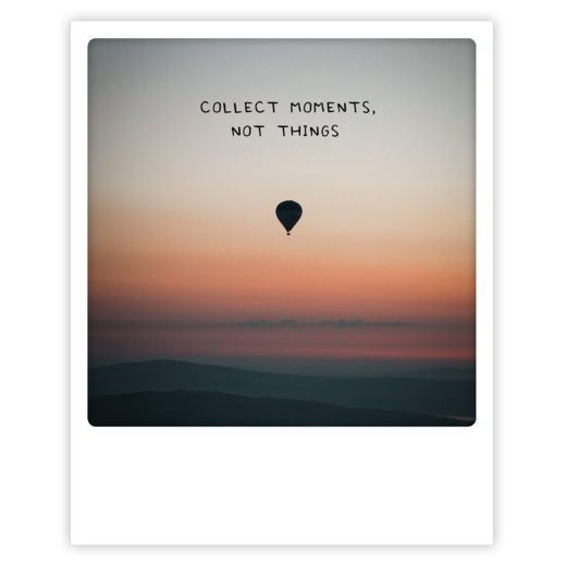 Postikortti Pickmotion - Collect moments