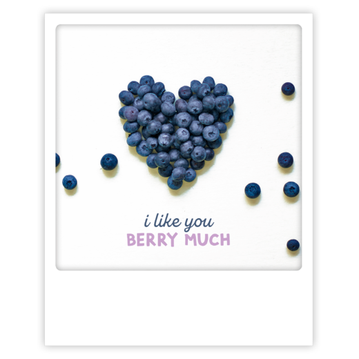 Postikortti Pickmotion - I like you berry much